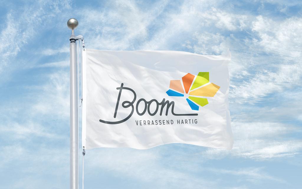 City marketing voor gemeente Boom, logo, branding