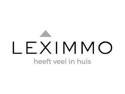 Leximmo: een huisstijl en website die aansluiten bij de klant